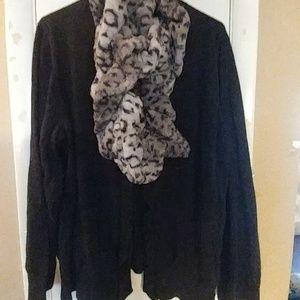 Plus sweater
